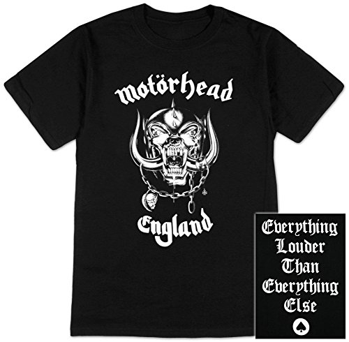 Motorhead - England T-Shirt Size M (Motorhead T Shirt compare prices)