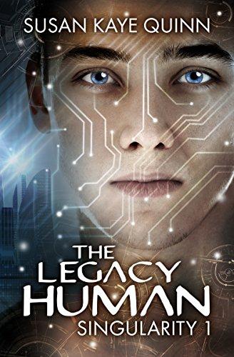 The Legacy Human by Susan Kaye Quinn ebook deal