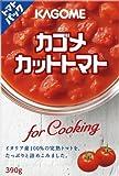 カゴメ カットトマト for Cooking 390g×6個