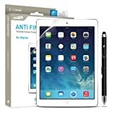 Ipad Air 1 and 2 Screen Protector Anti Fingerprint Sentey® Invisible Tablet 0.13mm Ls-13113 Bundle with Free Metal Stylus Touch Screen Pen {Lifetime Warranty}