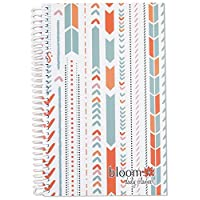 2015 Calendar Year bloom Daily Day Planner Fashion Organizer Agenda January 2015 Through December 2015 Aztec Arrows