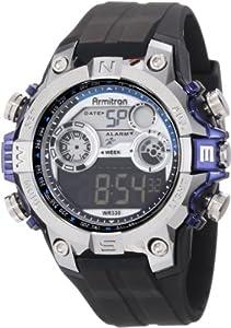 Armitron Sport Men's 40/8251BLU Sport Watch with Black Band