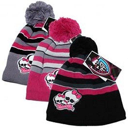 Monster High berretto invernale da sci pon-pon berretto pregiata (si prega di verificare il colore via mail mostrarci)