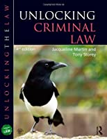 Unlocking Criminal Law 4th Edition
