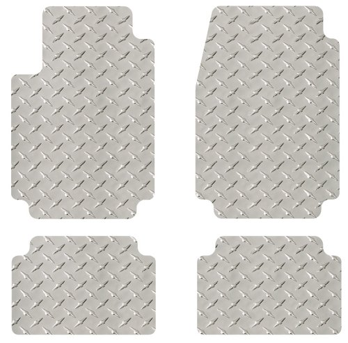 Coverking Custom Fit Rear Floor Mats for Select Dodge Grand Caravan Models Black Nylon Carpet
