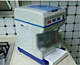 GOWE Commercial shaved ice machine electric ice crusher porridge smoothies machine, snow machine juice ice shaver: 45kg/H