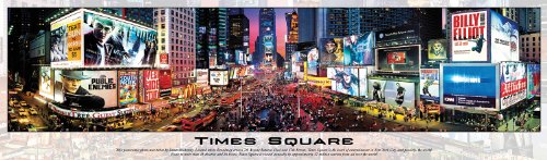Visit Panoramic Times Square 750 Pieces Jigsaw Puzzle Details