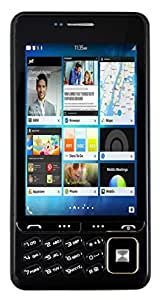 Disko Q200 Touch and Keyboad Mobile phone in Black Colour