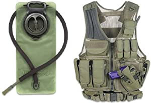 GMG-Global Military Gear OD Olive Drab Green Tactical Scenario Military-Hunting... by GMG-Global Military Gear