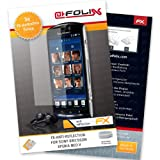 AtFoliX FX-Antireflex Premium Display Protection Film for Sony-Ericsson Xperia neo V Anti-Reflective Pack of 3