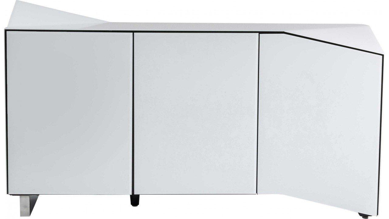Kare 80516 Sideboard Triangle, weiß