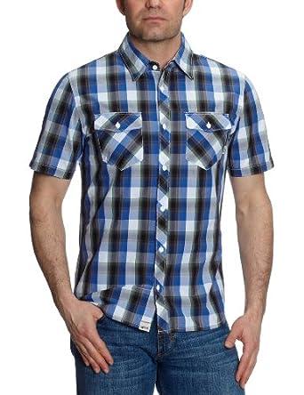 Vans Farer  - Chemise -Homme - Bleu - Small