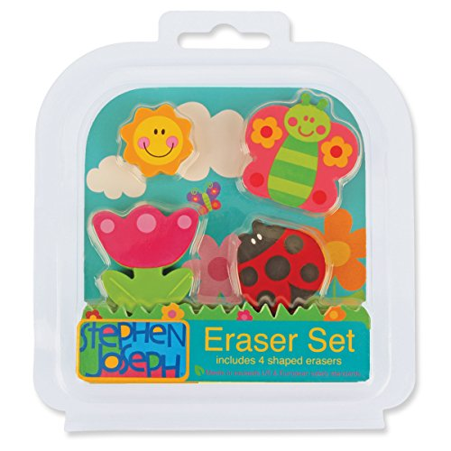 Stephen Joseph Eraser Set-Garden