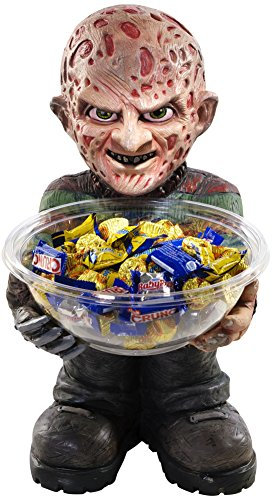 Rubies Freddy Krueger Halloween Candy Holder Bowl