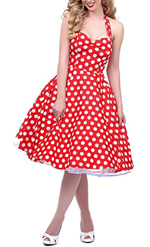 1950s Style Red