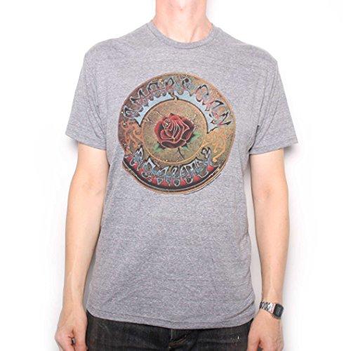 Grateful Dead T Shirt-American Beauty Official US Import Grau s
