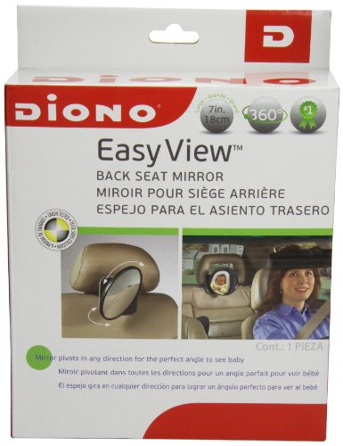 Find Cheap Diono Easy View Back Seat Mirror, Black