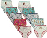 Frozen Panties - Best Panties for Little Girls Who Like to DRESS LIKE A PRINCESS - Most Requested Gift for Back to School and Christmas. Makes a great Birthday Present - Handcraft Little Girls' Disney Frozen 10 Pack Panty - Featuring Anna, Elsa, Olaf. Designs include: Best Friends - Sisters Forever - Colorful Sisters - Family Forever - Snow Queen - Girl Power - Strong Bond Strong Heart - Snow Angel - Radiant Heart