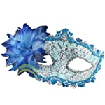Venetian Style Lace with Rhinestone L...
