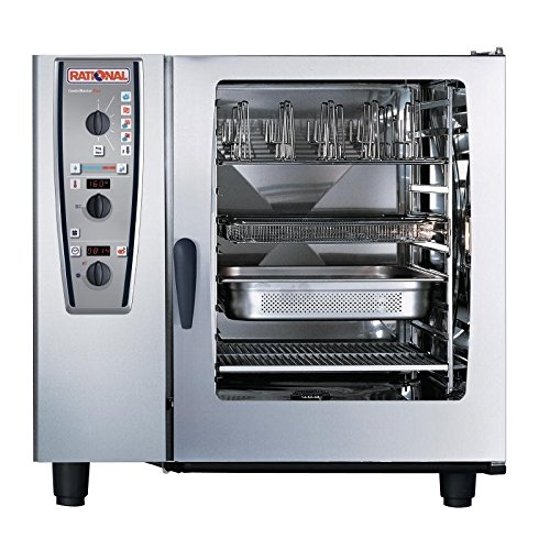Rational Heavy Duty Combimaster Oven 102 Propane Gas Commercial Kitchen Restaurant Cafe