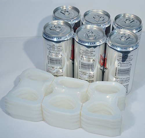 TFD Supplies Plastic 6-Pack Rings For Beer and Soda 200 ea Bulk Wholesale (Soda 6 Pack compare prices)
