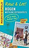 MARCO POLO Raus & Los! Rügen und mittlere Ostseeküste: Guide und große Erlebnis-Karte in praktischer Schutzhülle