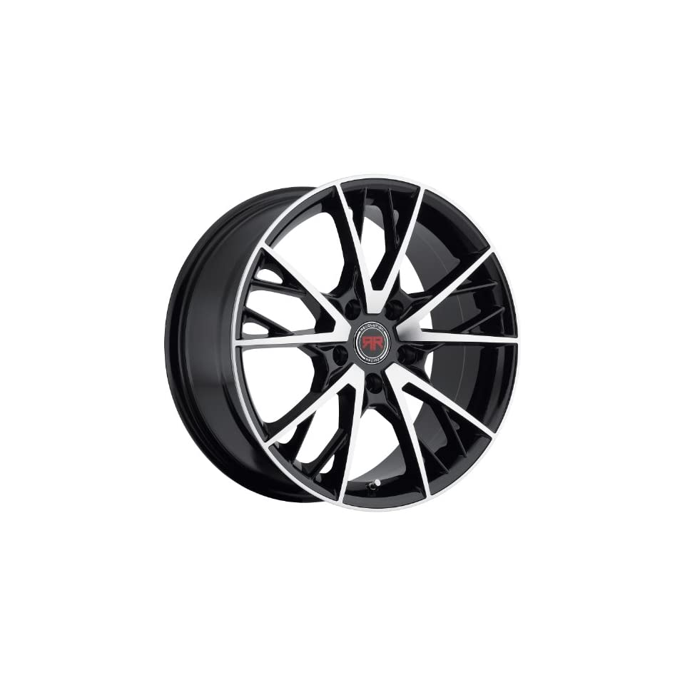 Revolution Racing RR01 18 Black Wheel / Rim 5x120 with a 40mm Offset and a 73.1 Hub Bore. Partnumber RR01 1885120+40BM Automotive
