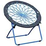 Bunjo Chair - Blue, Flexible Bungee C...