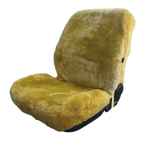 Carpoint Maxi 0310094 Sheepskin Car Seat Cover Beige