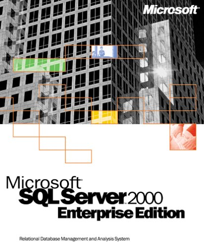 Microsoft SQL Server 2000 Enterprise Edition (1 User License)