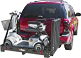 SC500-V3 Deluxe Power Scooter & Wheelchair Hitch Cargo Carrier Rack