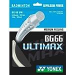 Yonex BG-66 Cordage Ultimax pour raqu...