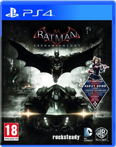 Batman Arkham Knight PS-4 AT D1 inkl Harley Quinn DLC