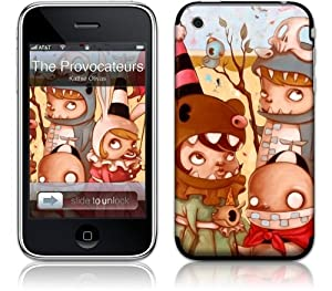 Gelaskins The Provocateurs adhesive skin for iPhone 3GS / 3G / Original
