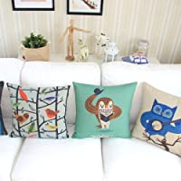 """Yamimi ghost Linen Cloth Pillow Cover Cushion Case 18""""£¬Q404 from Yamimi"""