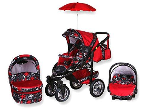 Tabbi | modello MT1BX | 3in1passeggino set completo | ombrellone