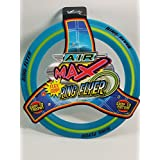 Air Max Flex Grip Ring Flyer Blue Frisbee Round Flying Disc Toy