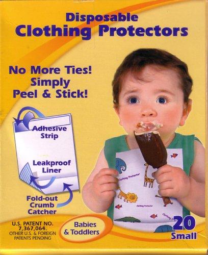 Napkleen シール式使い捨てエプロン ナップクリーン 乳幼児用 20枚入 530110