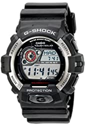 Casio Men's GR-8900-1CR Tough Solar G-Shock Digital Display Quartz Black Watch