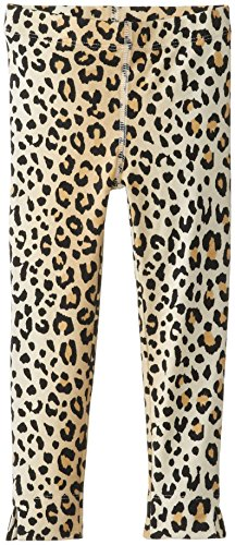 Petit Lem Little Girls' Animalicious Knit Legging, Leopard Print, 6 front-612952