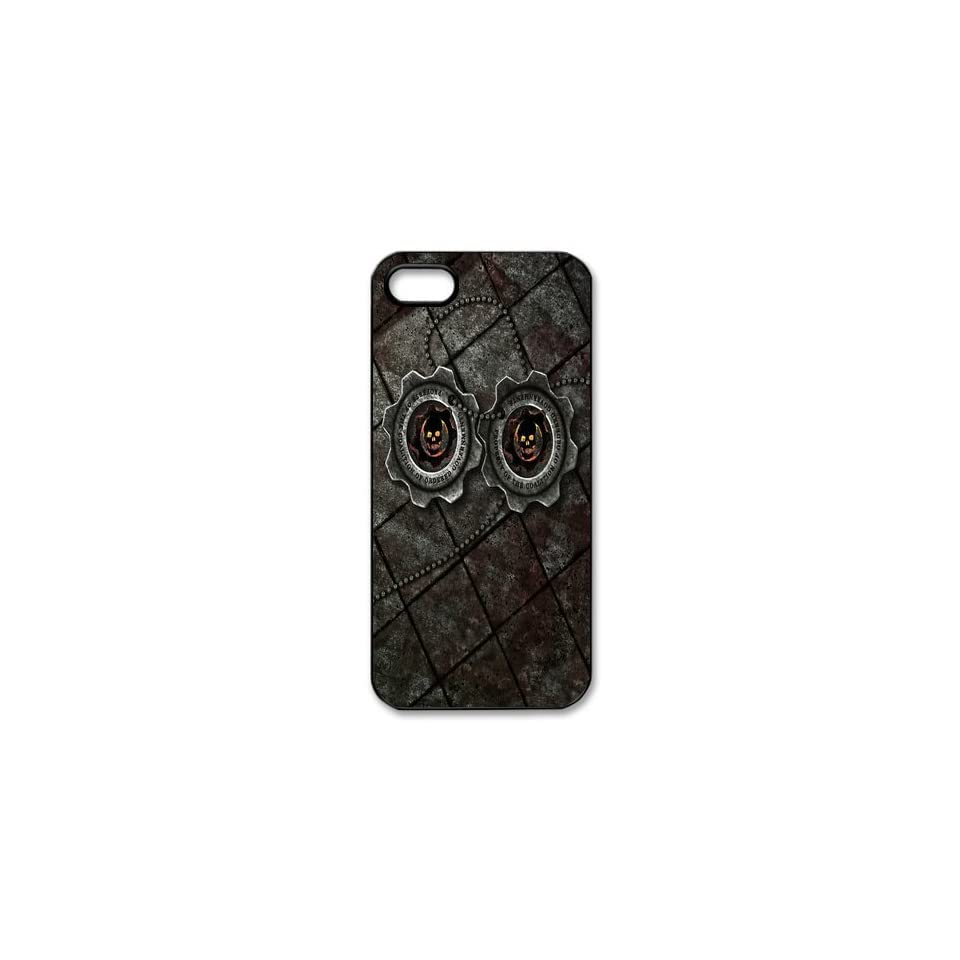 Cool Game Gears of War Case for Iphone 5,Iphone 5 Hard Shell Cases DIY50136 Designed By Hello Diy