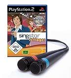 echange, troc PS2 SingStar Schlager inkl. 2 Mikrofone