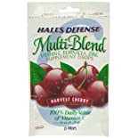 Halls Defense Multi-Blend Supplement Drops, Harvest Cherry, 25 ct.