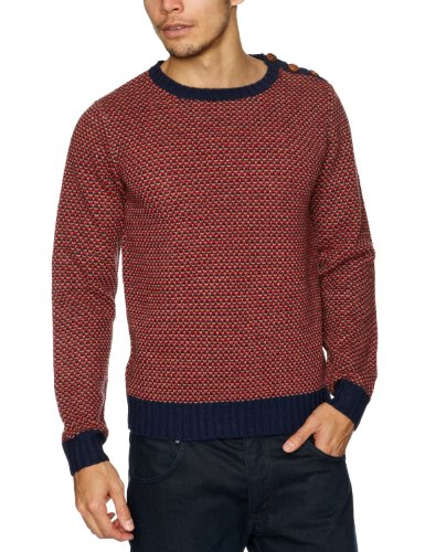 St Jude  Falkirk Men's Jumper Red Medium