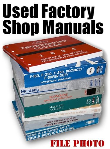 1983 Chevrolet Electrical Troublshooting Shop Manual Supplement