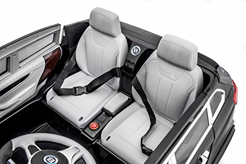 sportrax bmw x7 style kids ride on car 2 seater battery powered remote control wfree mp3 player black