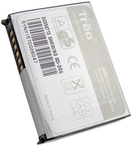 Palm 3184WW Battery for Palm Treos 650, 700w, 700p, and 700wx