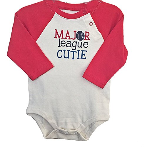 small-wonders-baby-boys-major-league-cutie-bodysuit-size-6-9-months