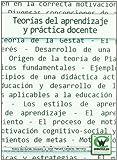 Teorias Del Aprendizaje Y Practica Docente (Spanish Edition)