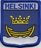Helsinki Finland Flag Embroidered Patch Badge